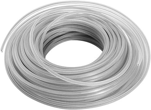 KKmoon Cable de alambre de acero inoxidable, cuerda de corte de 3 mm, hilo de nailon para cortabordes, desbrozadora, cortadora de bordes: Amazon.es: Bricolaje y herramientas