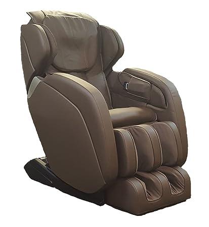 Sunheat International Extra Wide Leather Massage Chair BrownSunheat  International Extra Wide Leather Massage Chair Brown