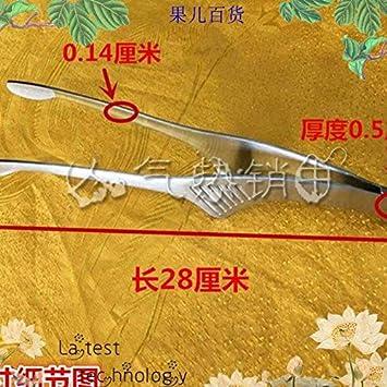 Xing Lin Ensalada Pinzas Barbacoa Especial Carne Asada Con Clip De Acero Inoxidable Clip De Carne