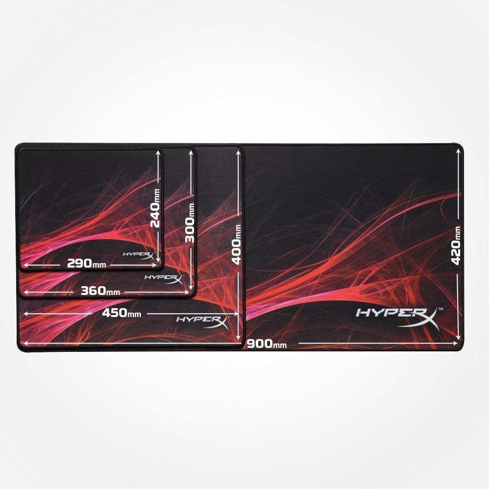 Mousepad HyperX Fury S Pro Speed Edition Grande, 450x400x4mm, HX-MPFS-S-L