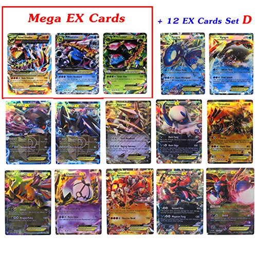 Spirit Halloween Promo Code (New Mega Cards EX Blastoise - Primal Groudon - Venusaur with 12 EX Rare Cards Trading Card Games with Box and Cards Sleeve Fast Shipping)