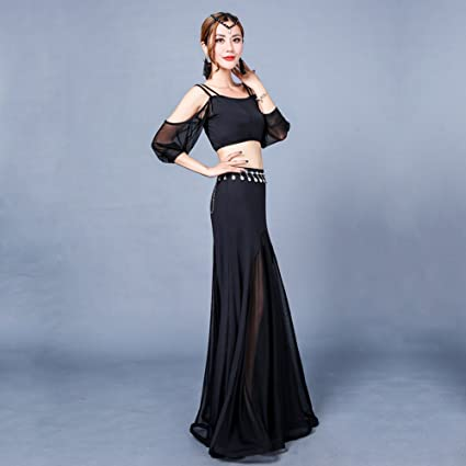 Xueyanwei Professional Lady Belly Dance Costumes Indian Dance Dress Dance Big Swing Skirt Dance Competition Performance