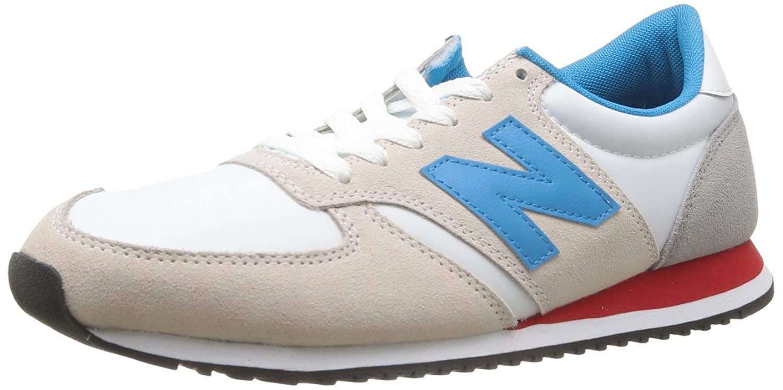 new balance beige blau rot