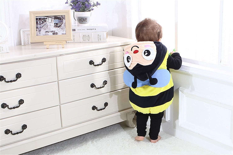 6b45b98ec9ef7 Titop Nouveaux Enfants Bean Warm Wear Bee Baby Wear Enfant vêtements de Dessus  Automne Hiver   Printemps ...