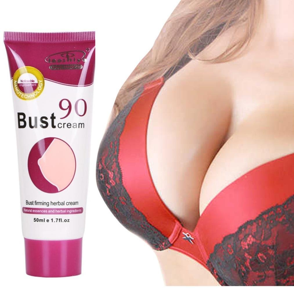 Clearance ! Vanvler Firming Breast Cream Natural Breast Enlargement Essential Oil Bust Augmentation 50ML (White)