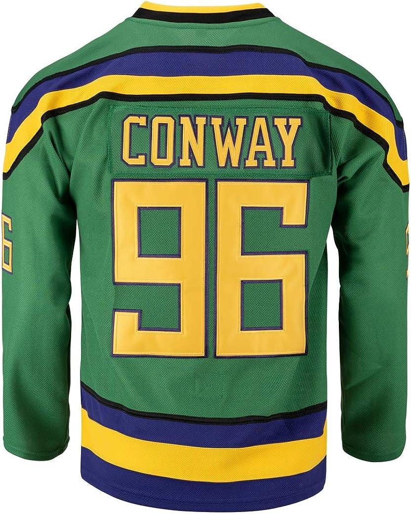 Youth Mighty Ducks Movie Shirts Ice Hockey Jersey: Clothing