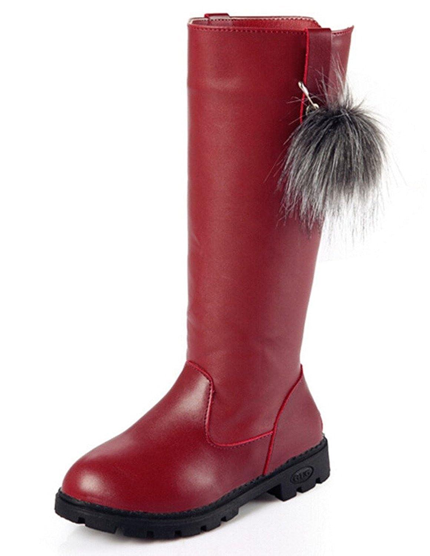 441d5410493e6 DADAWEN Waterproof Boots Bottine de Neige Pour enfant Fille Bébé