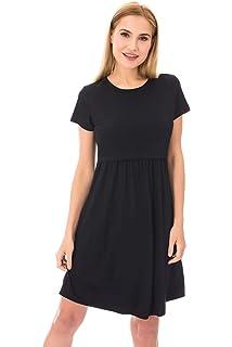 Bearsland Womens Maternity Sleeveless Dress Nursing Breastfeeding Dresses