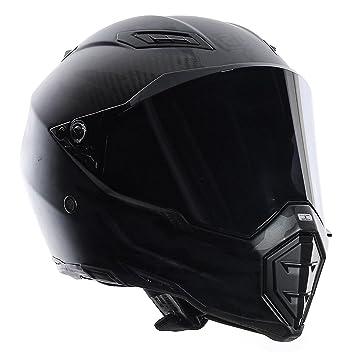 AGV Casco AX 8 Naked-Carbon E05, Color Negro, Talla 3