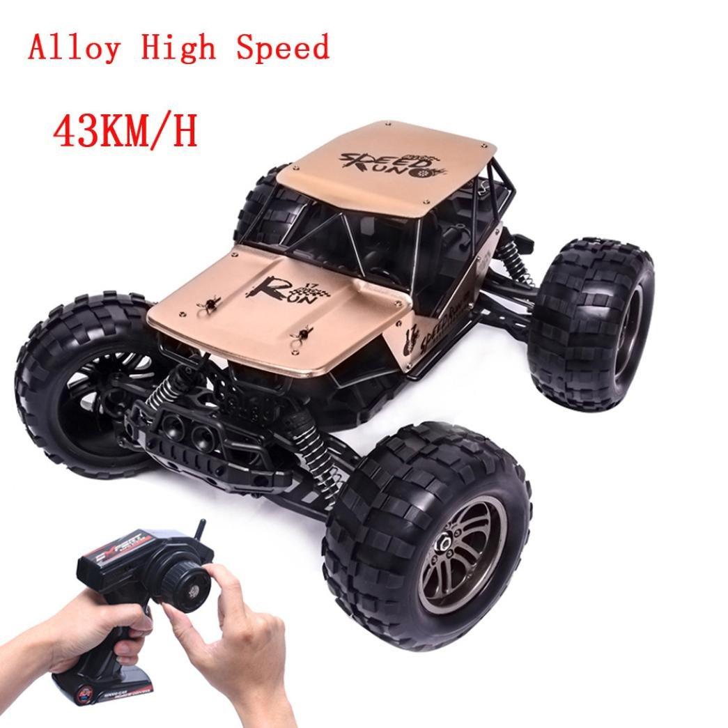 Mando a distancia para coche, [1: 12 2.4 G aleación de alta velocidad RC Monster coche] eléctrico semi-waterproof alta velocidad control remoto camión ...