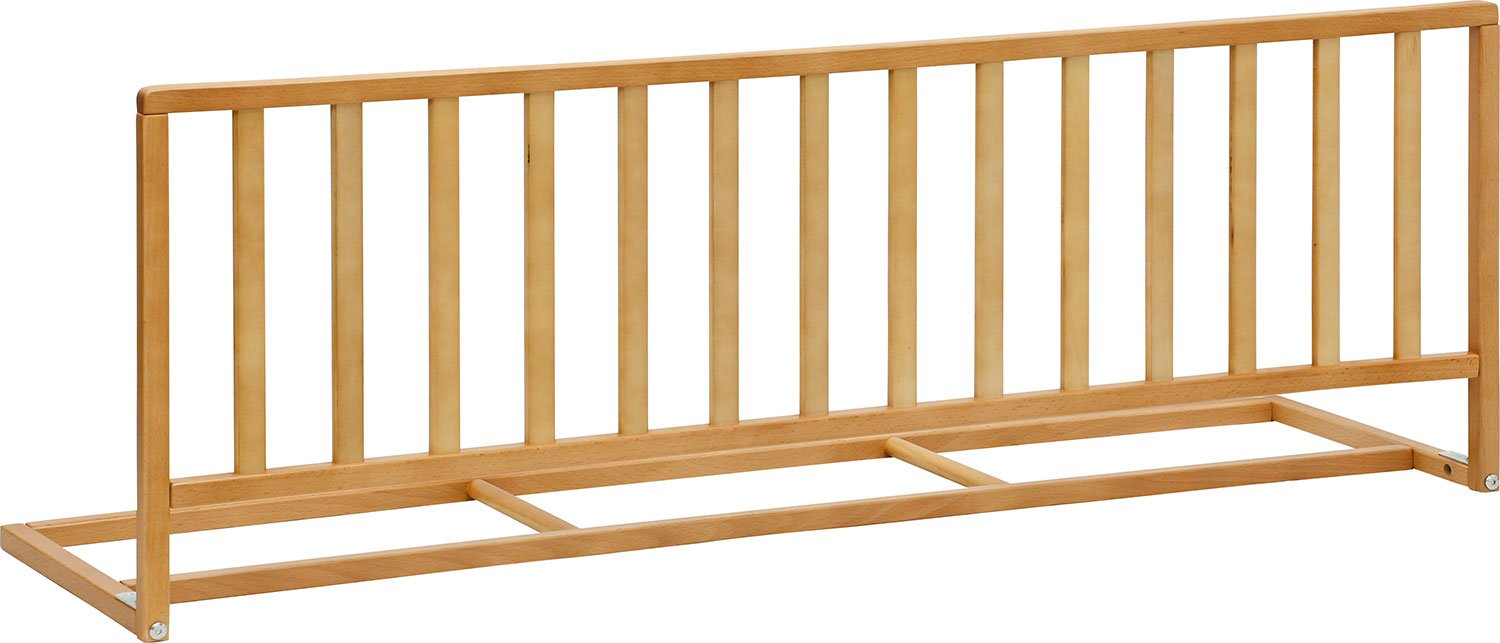 IB-Style - High Quality Bedrail PINO Solid Beech-Wood Natural or White| Bedguard Child Kid Baby Bed Sleep - Width 47.2 - Height 16.5 White