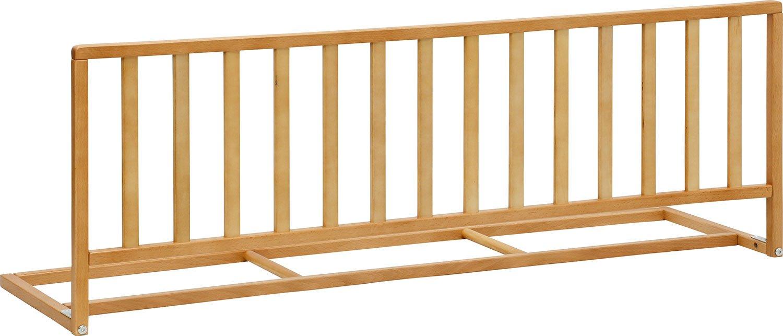 IB-Style - Barriera di sicurezza per letto in legno di alta qualità Pino faggio - verniciata come naturale - 120 x 42 cm