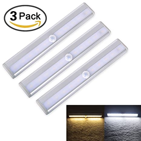 Enterest Wardrobe - Lámpara LED de noche con tira magnética para armario en cualquier lugar con