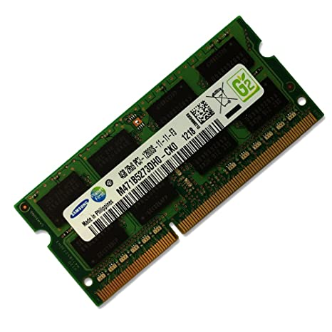samsung 4gb ddr3 pc3 12800 1600mhz 204 pin sodimm laptop memory
