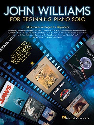 John Williams for Beginning Piano Solo (Tapa Blanda)
