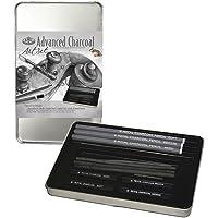 Royal & Langnickel RSET-ART2503 Small Tin Charcoal Drawing Art Set