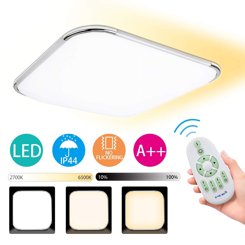 Hengda Deckenlampe LED Deckenleuchte Dimmbar badezimmer