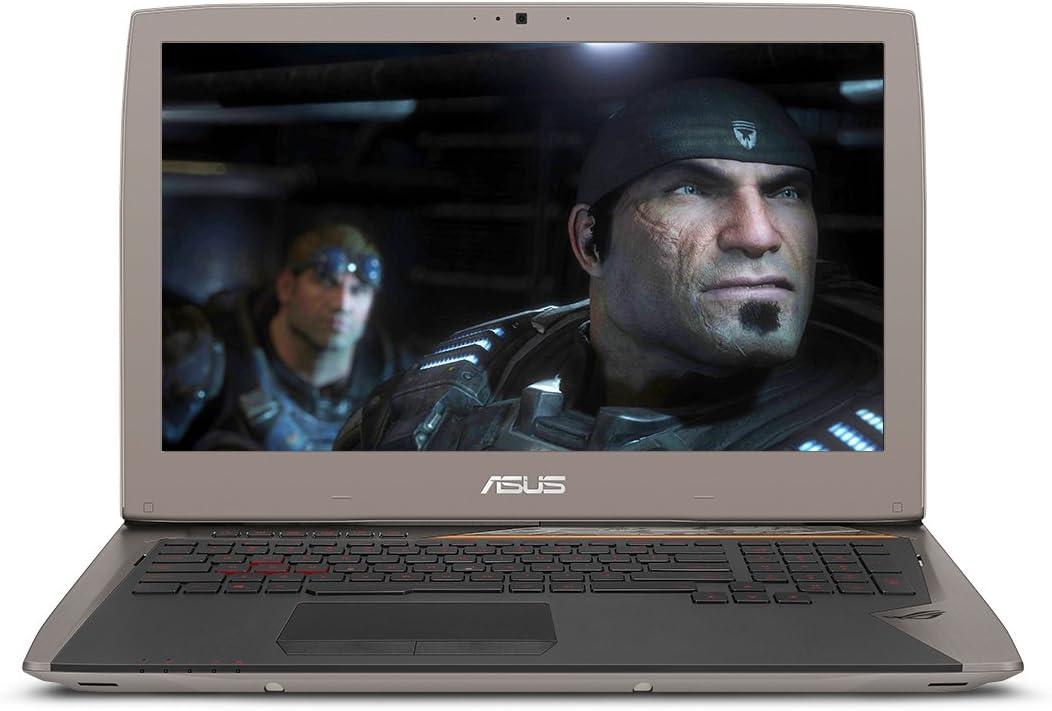 "ASUS G701VI-XS72K OC Edition, 17.3"" 120Hz G-SYNC VR Gaming Laptop, GTX 1080, 7th-Gen Core i7, 32GB RAM, 2 x256GB SSD , Backlit KB"