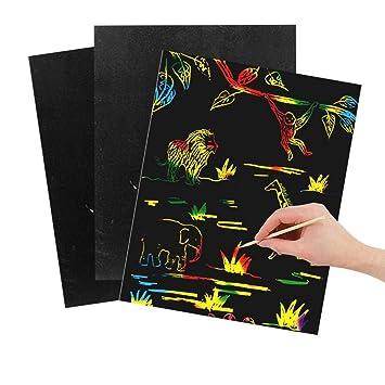 Amazon.com: Foshin 10/30 piezas multicolor de papel de ...