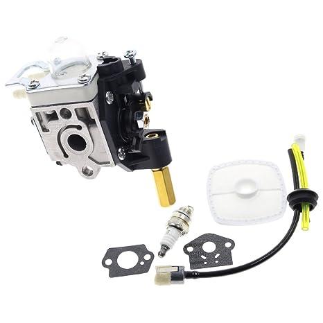 goodeal carburador con Kit de mantenimiento de combustible bujías para Echo GT200 ppf210 PPF211 gt201i refrigerador