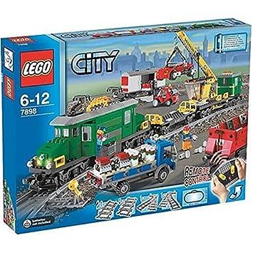 Lego 9V Eisenbahn 7898 Waggon Kranwaggon Baukästen & Konstruktion Anleitung LEGO Bausteine & Bauzubehör