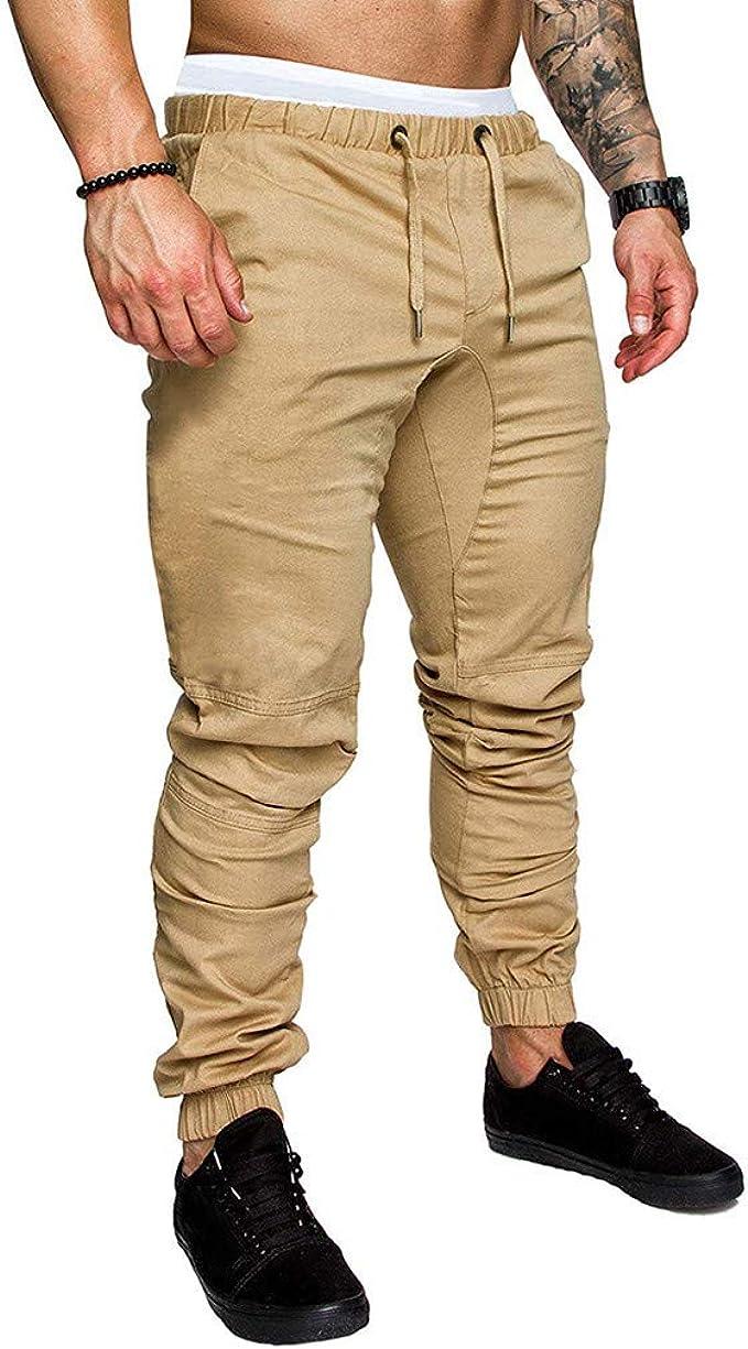 YUTING Pantalones de chándal cagados para Mujer en Cierre de ...