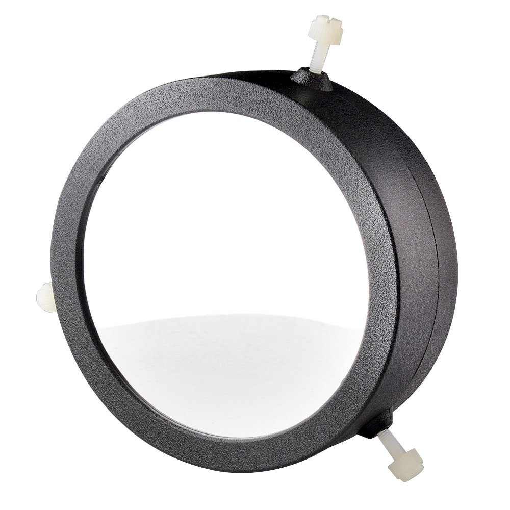 Solomark Deluxe Adjustable 86-117 Mm Inside Diameter Solar Filter, Baader Planetarium Film, for 86-117mm Aperture Telescopes-astrosolar Safety Film Visual-explore the Sun Safely Through a Telescope-discover the Fun of Daytime Astronomy SOLOMARK_QHFT034