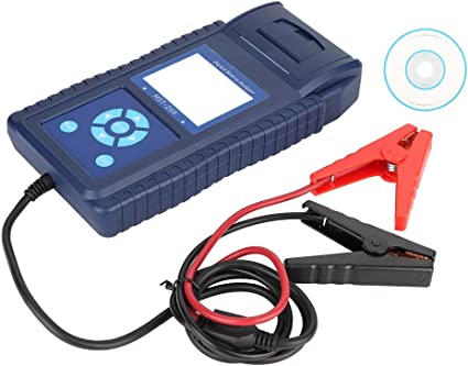 Probador del sistema de batería de coche con impresora Probador de ...