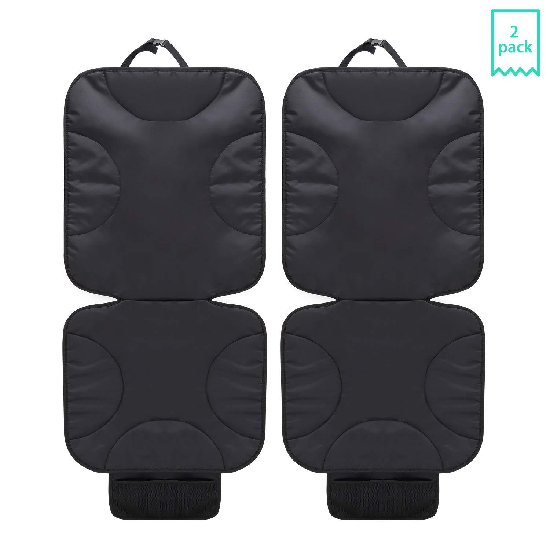 2 Unidades de Protectores de Asiento de Coche con protecci/ón de Acolchado m/ás Grueso para Asientos de Coche Que protegen el tapizado de Piel o Tela del veh/ículo