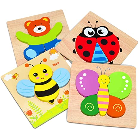 Wiki Wooden Animal Jigsaw Puzzles Best Gift For Kids