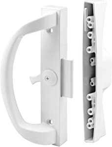 Prime-Line Products C 1263 Clamp Type Sliding Door Latch, White