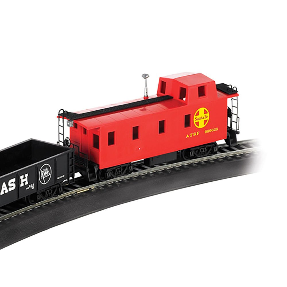 Toy Train Set Electric Kids Toys Santa Fe Flyer Ho Scale Fashion Model Railroading Electronics That Electronic Ready To Run Children Boys Realistic Trains Games House Deals