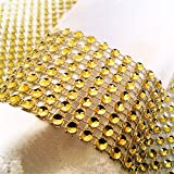 QIUCHUANG 100 Pcs Napkin Rings Decoration For Wedding Party (Gold)