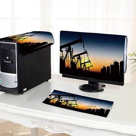 UHOO2018 - Bombas de Aceite de Tres Piezas para Ordenador (Pantalla LED LCD, Pantalla HD de 17 Pulgadas): Amazon.es: Hogar