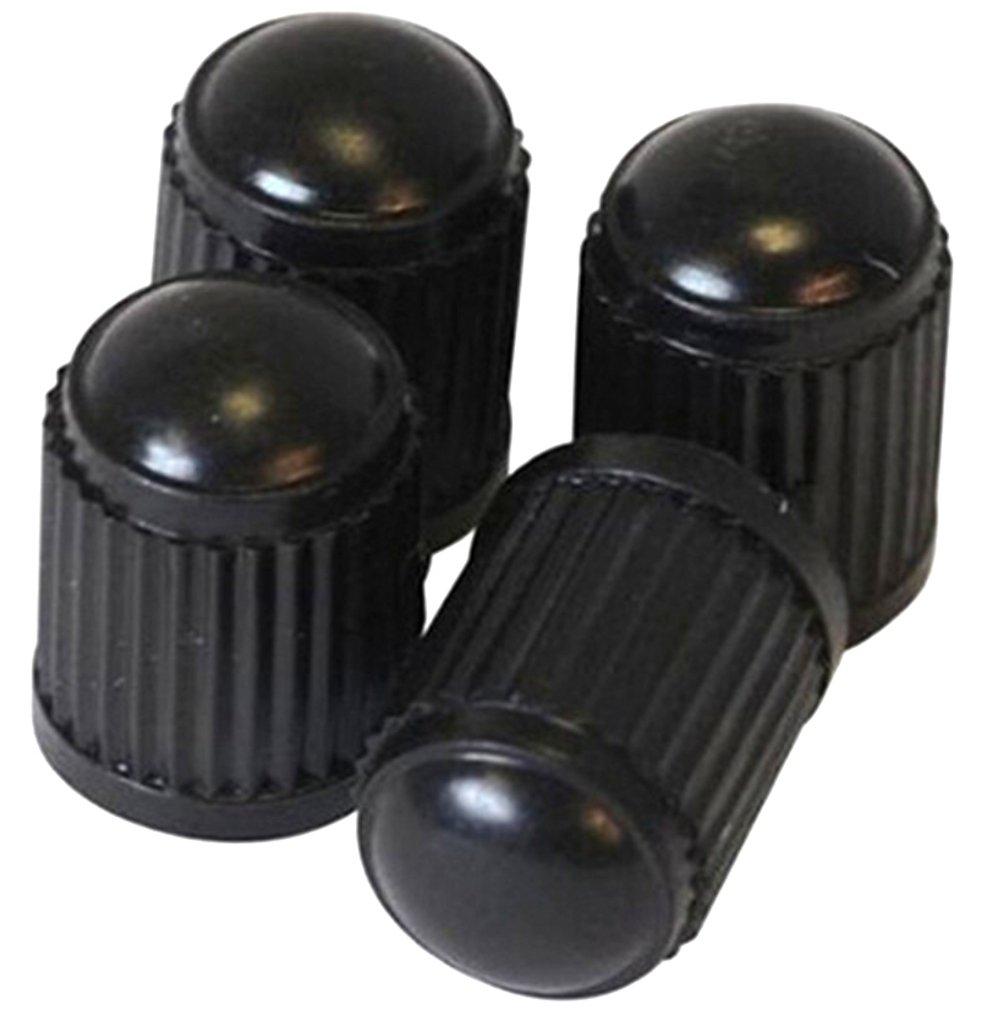 f/ür Reifenventile 4 x BigGROOVE Auto-Ventilkappe aus Messing Ventildeckel Chrom PRESKIN Ventilkappen