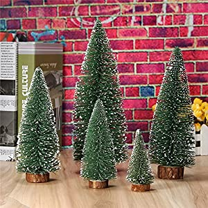 Decoration - Inch Christmas Tree Small Miniature Mini Pine Table - Mini Christmas Tree Home Wedding Decoration Supplies Artificial Tree A Small Pine Tree - Small Christmas Tree Lights - 1PCs 103