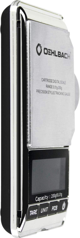 0.01 Gramm Pr/äzise Digitalwaage mit hoher Genauigkeit f/ür Tonabnehmer//Tonarm OEHLBACH Tracking Force Tonarm-Waage Front aus Edelstahl
