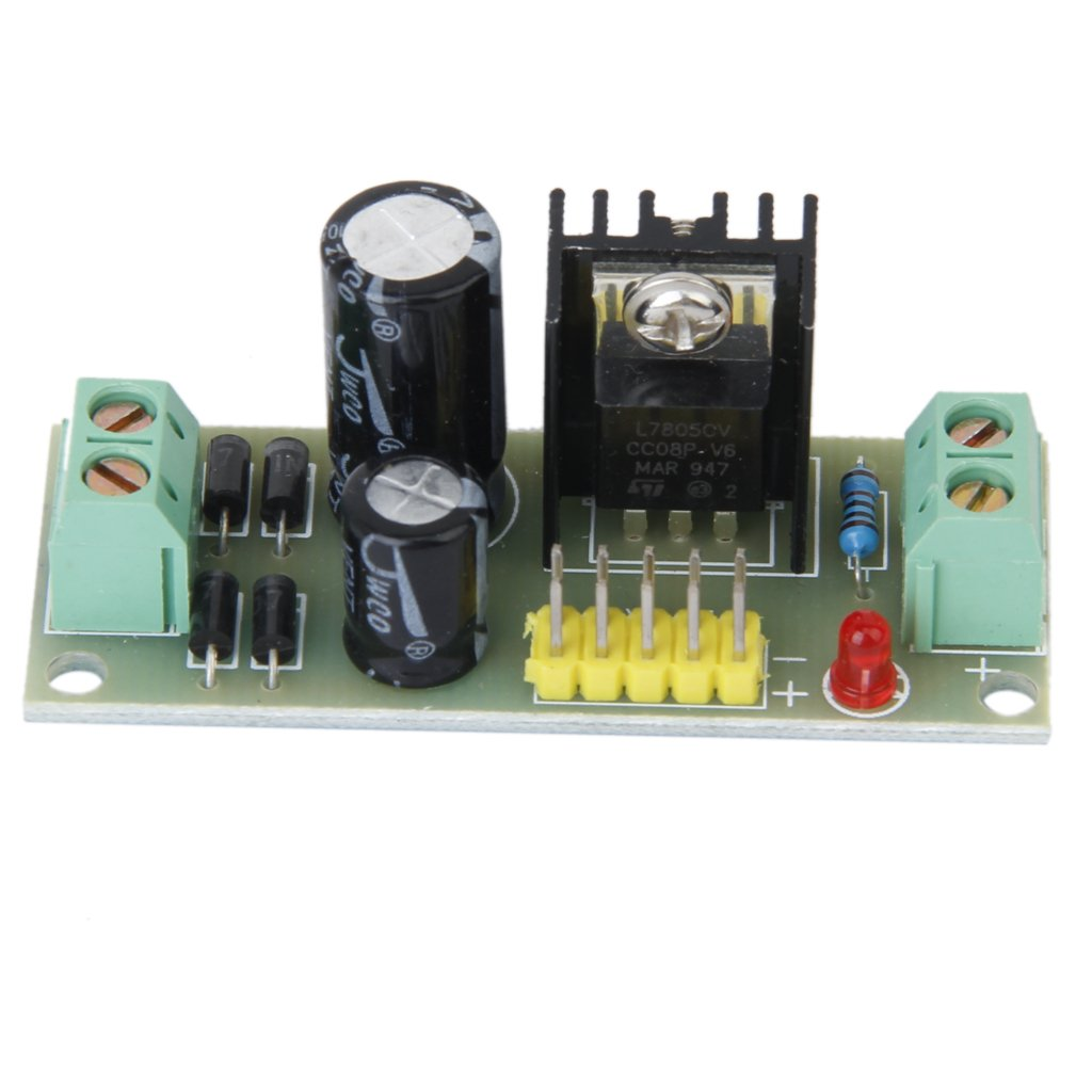 7805 AC/DC-DC Step-down/ Abaisseur Alimentation Module -Env. 57x 23 mm Generic STK0114009073
