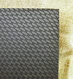 Black Basket Weave Kydex 'T' Sheet, 12' x 12', .08 Thickness
