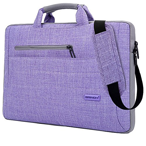 Portable Wireless Notebook (Brinch 17.3 Inch Multi-functional Suit Fabric Portable Laptop Sleeve Case Bag for Laptop, Tablet, Macbook, Notebook - Taro Color)