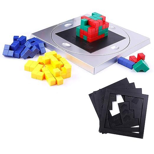 MZMM Estrategia 3D Cubo de Rubik Juego Divertido Pensamiento de ...