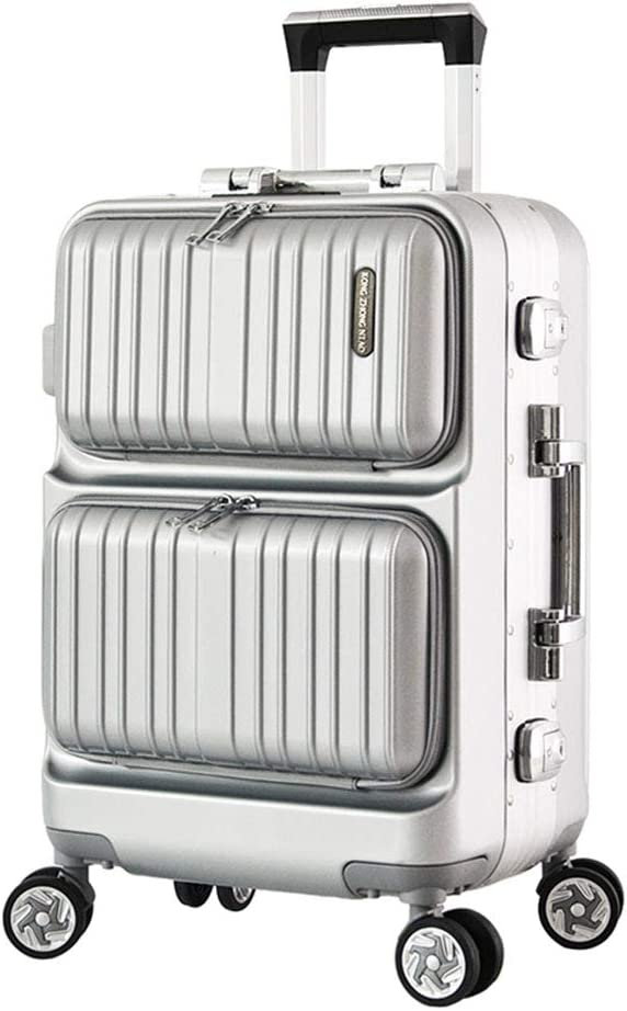女性用スピナーホイール付きスーツケース、軽量の大型硬質荷物、携帯用手荷物、キャビンスーツケース