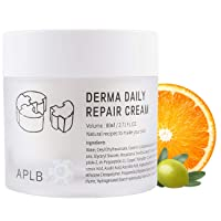 APLB Derma Daily Repair Cream Moisturizer 2.71 FL.OZ. / Korean Skin Care, Ultra-Rich Moisturizing Cream or smooth and firm skin, Nurture with Vitamin C, Paraben Free