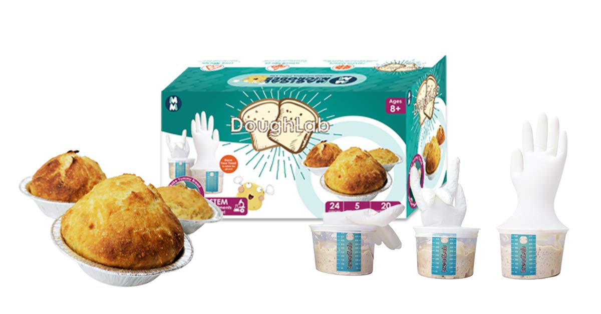 Magical Microbes DoughLab STEM Kit: Bake and Learn by Magical Microbes