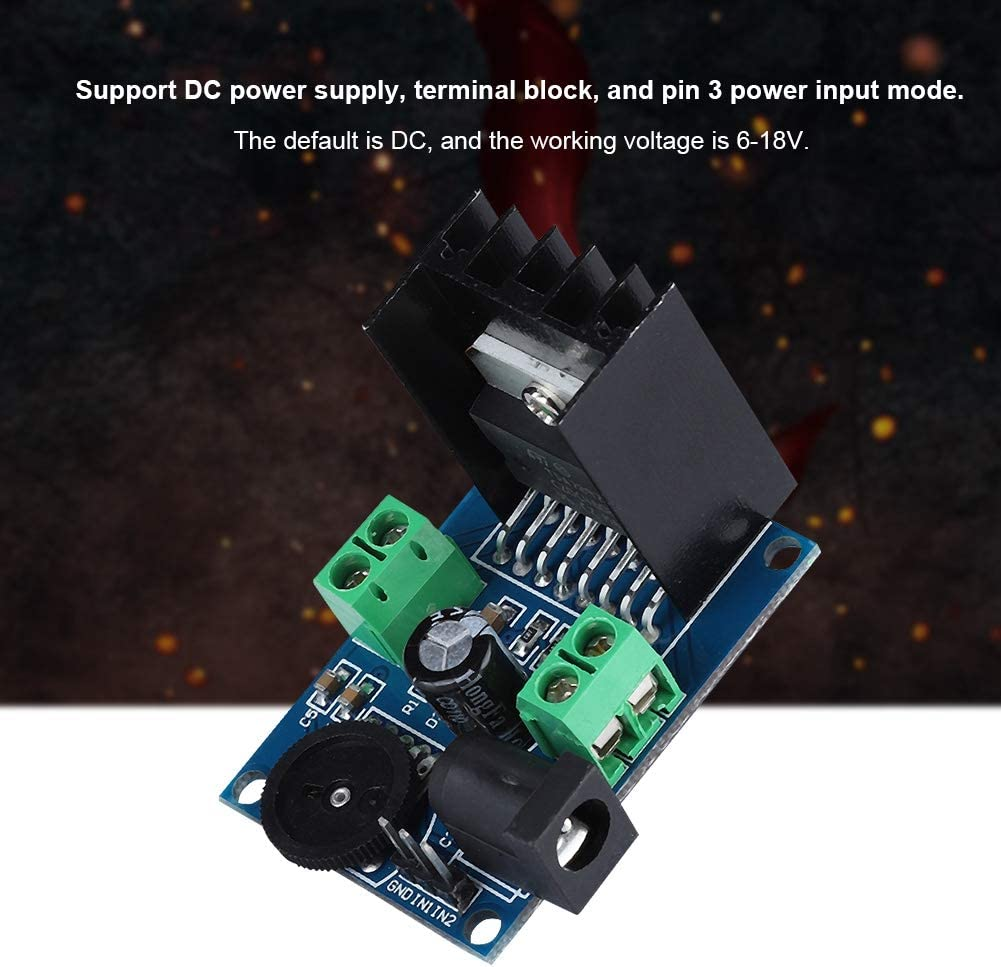 Stabile di alta qualit/à TDA7297 2 15 W Scheda audio digitale stereo a doppio canale con amplificatore di potenza per modulo DC per morsettiera di alimentazione CC Pin 3 Modalit/à ingresso alimen