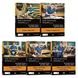 Peter Sefton Fine Furniture Making Series 1. - Set of 5 DVDs