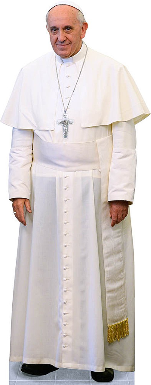 Pope Francis Lifesize Cutout Standee by Catholic to the Max