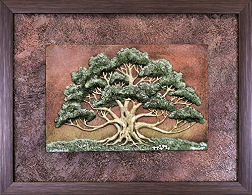 Matriarch - Cast Paper - spreading oak - mother's day - grandmother gift - wall art - nature - tree - landscape by Celtic & Fantasy Art by Kevin Dyer