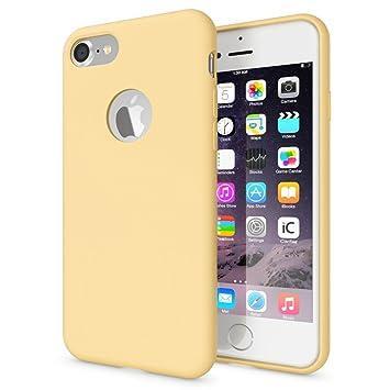 6cb16142c67 NALIA Liquid Silicona Funda Carcasa Compatible con iPhone 7, Dura Tacto  Suave Carcasa Protectora Ultra