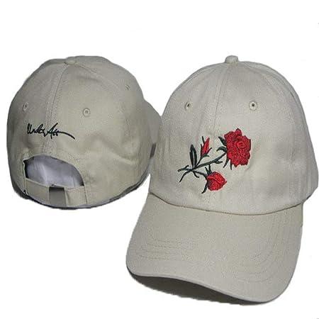 sdssup Hembra Rosa Marea Blanca Marca Cap Cap 9 Ajustable: Amazon ...